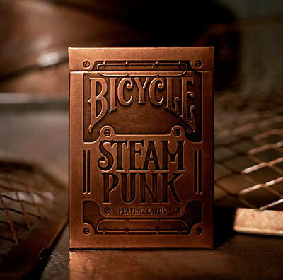 Carte Bicycle Steampunk by Theory11 - formato poker - SOLOMAGIA
