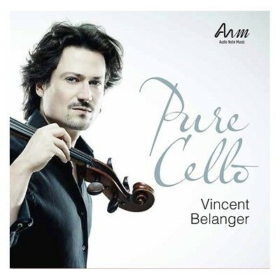 VINCENT BELANGER | PURE CELLO | AUDIONOTE MUSIC | 2 x 180G VINYL