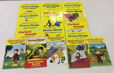 10 Curious George Books With Free Shipping!!