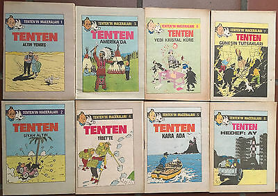 tintin turkish edidition 23 books