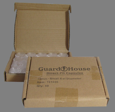 #7881622 10 per Box GuardHouse Cent 19 mm Direct Fit Coin Capsules