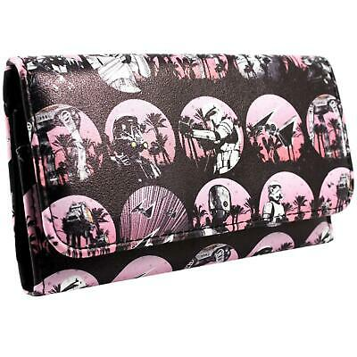 New Official Star Wars Rogue One Galactic Empire Black Tri-Fold Purse