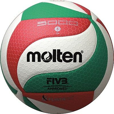 Molten V5M5000 Volleyball Wettspielball DVV1 FIVB synth. Leder Volley Ball
