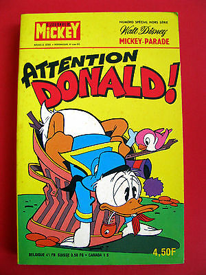 MICKEY PARADE ATTENTION DONALD N° 1284 bis 1977