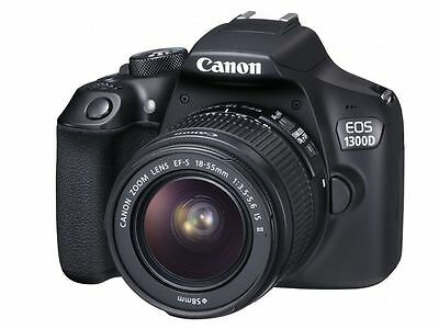 Canon Rebel T6 1300D DSLR Camera 18-55mm f/3.5-5.6 IS II Lens + Free 16gb SD Car