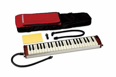 NEW Hammond 44 Acoustic-Electric Melodion Melodica 44 Key Carrying Case