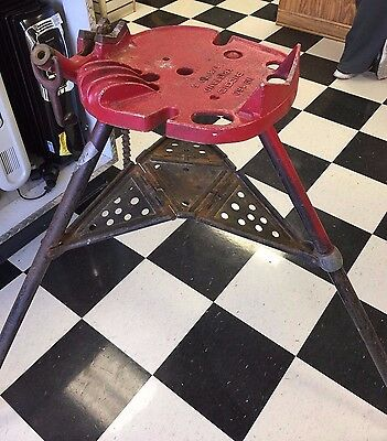 Ridgid 460 Tristand Pipe Stand Vice (1/8 to 6) LOCAL PICKUP ONLY!!!