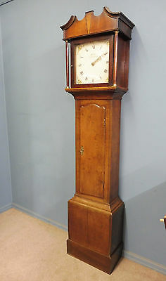 Oak 30 Hour  Grandfather Clock Circa 1750-1780