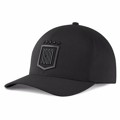 New Icon 1000 Black Tech Flex Fit Hat All Sizes Fast Shipping