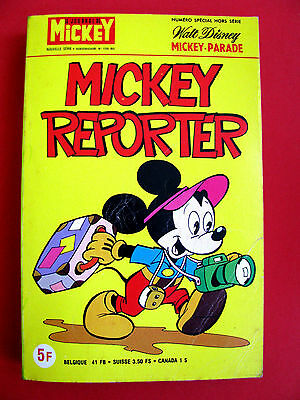 MICKEY PARADE N°1355 bis MICKEY REPORTER 1978
