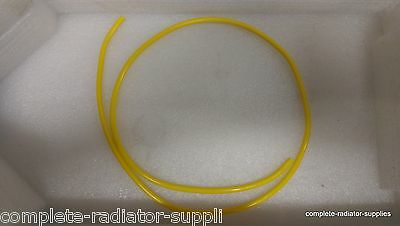 10 Metres x 4mm ID Yellow Vacuum Tubing Air Breather Tube Hose Aquatic and Pond