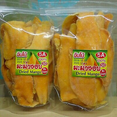 Dried Thai Mango Soft Slices Snack 1900g. from Thailand