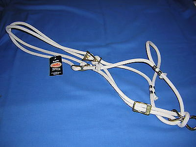 Fabtron Cotton Rope Large Horse Halter NWT
