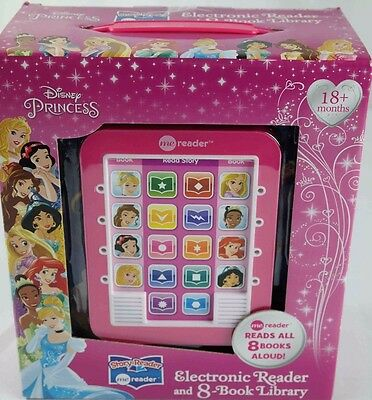 Story Me Reader Electronic reader & 8 book library Disney princess age 18M+ NEW
