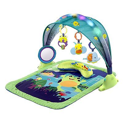 Bright Light Up Lagoon Activity Gym Starts Baby Toddler Play Toys Infant New Toy