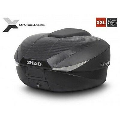 Top Box Shad Expandable Sh58X Carbone-D0B58106