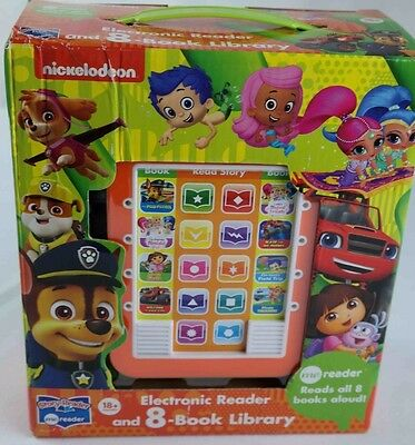 Story Me Reader Electronic reader 8 book library Nickelodeon shows age 18M+ NEW