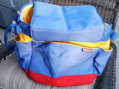 Fisher Price Travel Toy books Tote & Storage Bag car organizer home