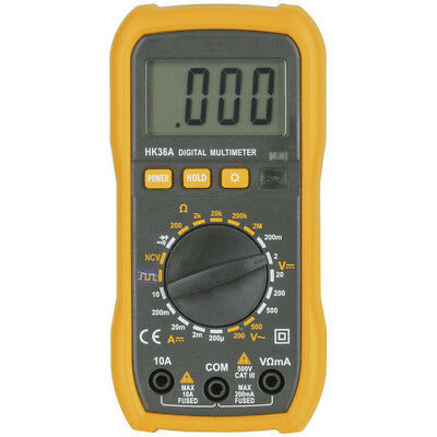 NWA Economy CatIII Multimeter With Non-Contact Voltage Sensor