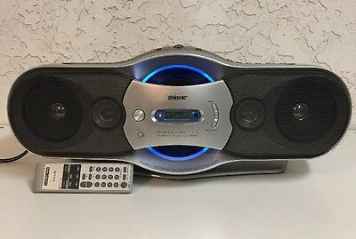 Sony CFD-F10 Dual Bass CD AM/FM Radio Cassette Recorder Player Boombox Stereo