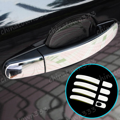 Fit For Ford Focus Mk2 05-11 Chrome Door Handle Cover Trim Catch Overlay Molding