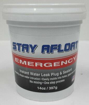 STAY AFLOAT Instant Water Leak Plug and Sealant