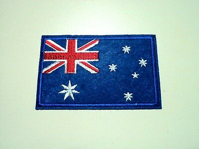 1x Australia Flag Patch Embroidered Cloth Patches Applique Badge Iron Sew On