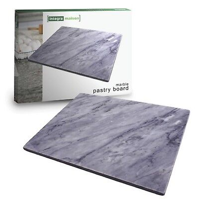 NEW CHARCOAL MARBLE PASTRY BOARD Rolling Slab Cutting Cheese Platter Plate Tray