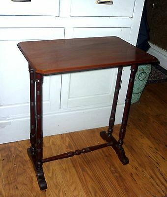 ANTIQUE MAHOGANY SIDE or hall TABLE
