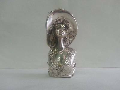 Statua Busto Donna Scultura  Argento 800  idea regalo Statue Sculpture