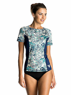 SUN PROTECTION T SHIRT TOP 8S 12 BTK6 ROXY WOMENS RASH VEST.SURF RASHGUAR UPF50
