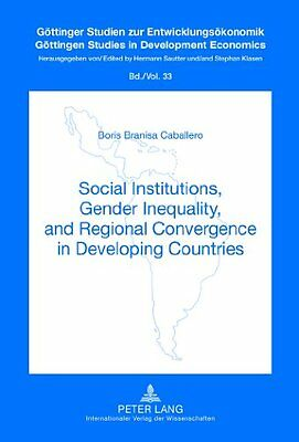 Social Institutions, Gender Inequality, and Regional Convergence in Developing