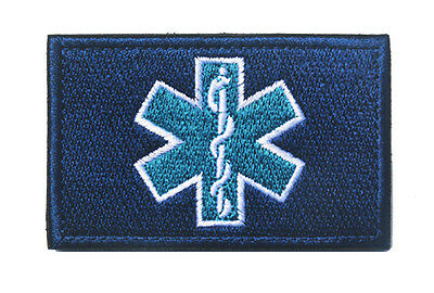 Medic Nurse Army Morale Tactical Embroidery Hook Patch Badge