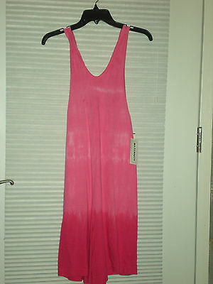 Sunsations Surf Maternity Jumper Size M Color Pink Tie Dye Nwt