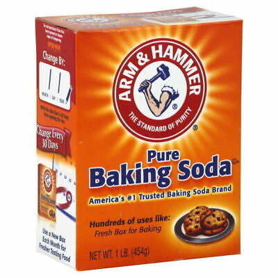 ARM & HAMMER PURE BAKING SODA LARGE 454g ARM&HAMMER.EXP 2020 CLEANING,BAKING,ETC