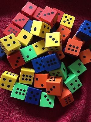 Joblot Novelty Dice Erasers Rubbers Home School Office Fun Free Postage