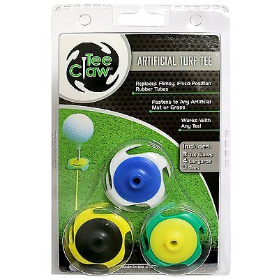 Tee Claw 3er –(Mixed) TeeClaw Golf Trainingsgeräte Übungstee Tee Golftee