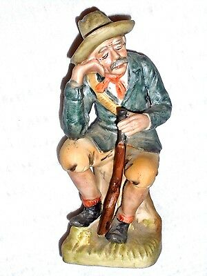 Vintage Arnart 5th Ave Man with Rifle Figurine #2442 Made in Japan