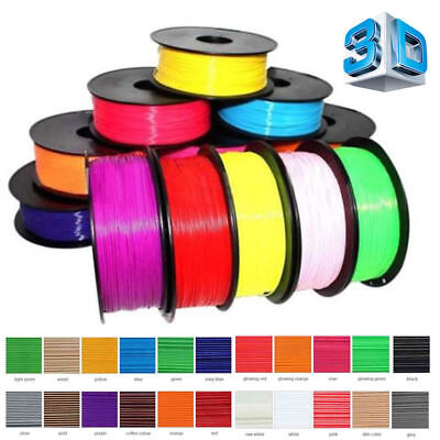 10X 20X (100/200m) 1.75mm Printing Filament ABS/PLA Modeling For 3D Printing Pen