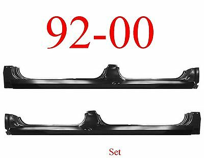 92 00 Extended Rocker Panel Set, Chevy GMC Truck, 4 Door Crew Cab, Suburban