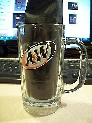 Vintage Large A&W Root Beer Mug, Anchor Hocking USA Great Pristine Condition