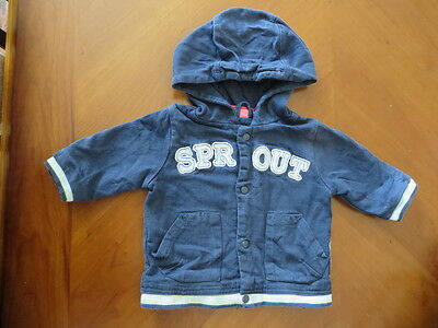 Baby Boys SPROUT Double Layer Jumper ~ Size 000 ~ Pre-owned