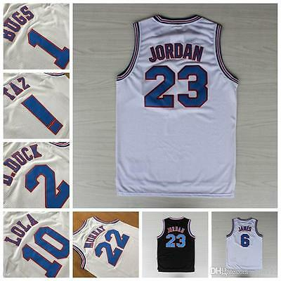 Space Jam Basketball Jersey LOONEY TOONES Tune Squad MJ Bug Lola Taz Murray Duck