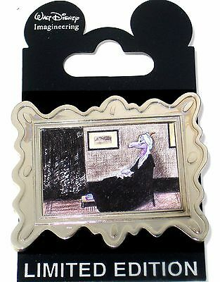 RARE LE 300 WDI Disney Pin✿Figment Art Framed Classic Whistler's Mother Painting