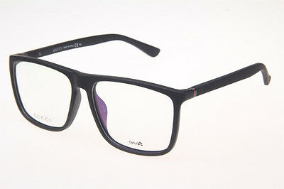 BRAND NEW GUCCI GG1096/F MATTE BLACK EYEGLASSES AUTHENTIC FRAME RX 57-15-140mm !