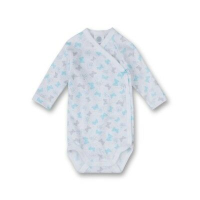 Sanetta Baby Bodysuits Butterfly white Long sleeved sz. 50, 56, 62, 68