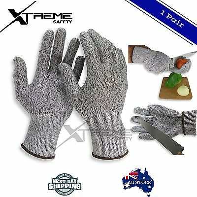 Anti Abrasion Protective Glove Cut Resistant Elastic Fiber Kitchen Safety Gloves