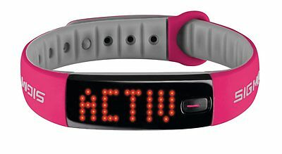 Fahrrad Activity Tracker Activo Sigma Berry pink