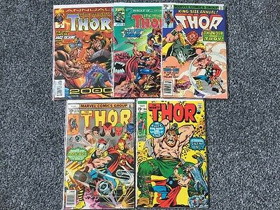 Marvel Comics The Mighty Thor Comic Bundle.