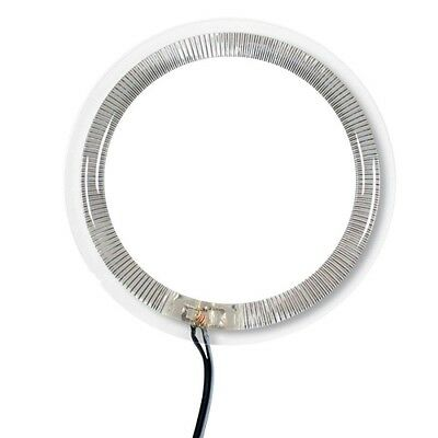 Set 4 Anelli 12Volts Angel Eyes Lampa Multi-Led Rings Bianco Per Auto Tuning New